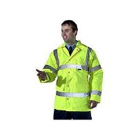 High Visability Fluorescent Yellow Jacket CTJENGSY